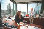 No. 1 midsize business: Northwestern Mutual Financial Network — MarylandNorthwestern Mutual CEO Scott Iodice, with CFO Beth Jones, said his firm sees value in hiring people from diverse backgrounds.