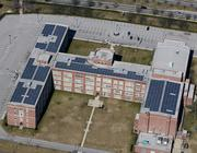 Johns Hopkins University added solar panels on top of its Eastern campus.