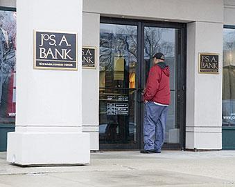 Jos. A. Bank Clothiers is trying to pare down its discounting strategy as it tries to pump up profits.
