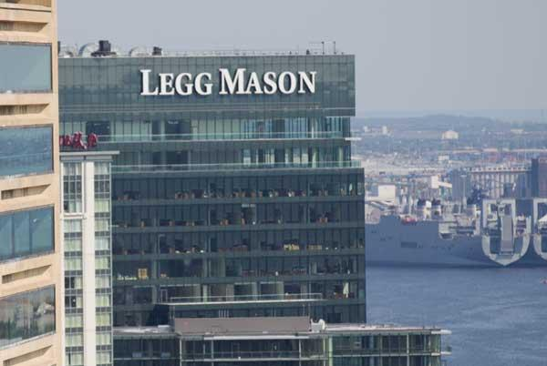 Legg Mason's quarterly dividend is set to increase by 18 percent.