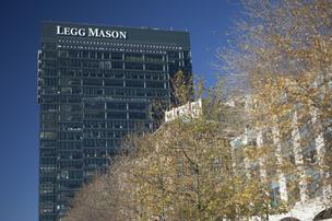 Legg Mason took a $454 million hit in the fourth quarter of 2012.