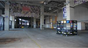 A look at the current Gate A entrance of M&T Bank Stadium.