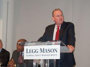 Legg Mason CEO Mark Fetting addresses shareholders