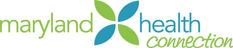 The logo of Maryland Health Connection, the name of the state's benefit exchange.