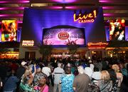 Arundel Mills, home of the new Maryland Live Casino (shown here), attracted 15 million visitors in 2011, making it No. 1 on the List.