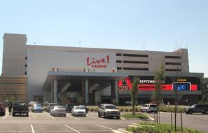 Maryland Live opened its new entrance Wednesday. The casino had been using a side entrance until that point.
