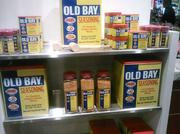 There's no shortage of Old Bay items at the McCormick World of Flavor store.