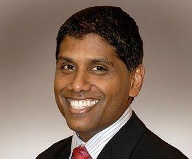 Dr. Mohan Suntha has been named CEO of St. Joseph Medical Center.