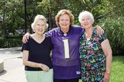 No. 3 in large business: Oak Crest  Oak Crest resident Penelope Hylborn, Executive Director Colleen LoPresto and resident Jean Kiirk show hometown pride.