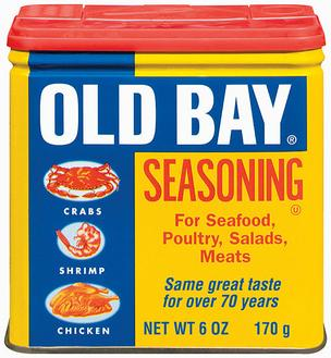 Old Bay is made by McCormick & Co Inc.