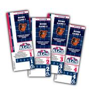 An image of what the Orioles' American League Championship Series tickets look like.