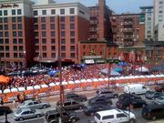Sliders and Pickles Pub across from Oriole Park enjoyed large crowd prior to the start of Monday's home opener.