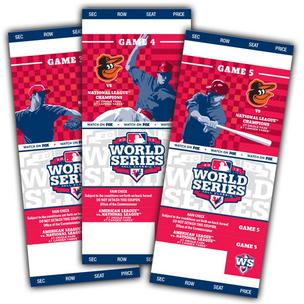 Orioles World Series tickets