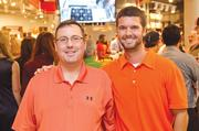 Will O'Brian and Eric Breach of Northrop Grumman say their employer is a big champion of Orange Wednesdays.