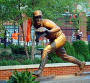 Cal Ripken Jr.'s statue was unveiled before the game in front of fans and Orioles hall-of-famers.Photo by Jan Hardesty