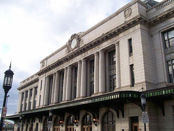 Baltimore's Penn Station