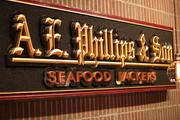 Where Phillips all started in 1916, as the seafood processor A. E. Phillips & Son Seafood Packers.