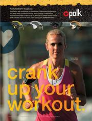 Olympic soccer player Heather Mitts is featured in new ad for Polk Audio.