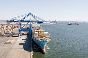 The Port of Baltimore may ships that were scheduled to dock in New York or New Jersey.