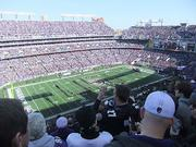 More than 71,000 fans packed M&T Bank Stadium on Sunday for the Ravens-Colts Wild Card matchup.