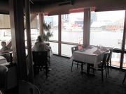 The Rusty Scupper restaurant along the Inner Harbor offers waterfront views that are ripe for watching tall ships sail into Baltimore for the Star-Spangled Sailabration.