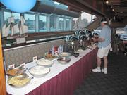 The Rusty Scupper served its guests a Fourth of July buffet feast.
