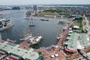 Tall ships began to make their way into the Inner Harbor on Wednesday. The Star-Spangled Sailabration runs until June 19.