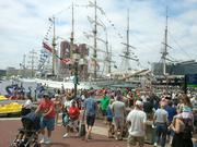 Thousands of guests packed the Inner Harbor on Sunday for the Star-Spangled Sailabration.