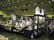 The 2011 National Sports Collector Convention was held in Chicago. Above, the booth of Schulte Auctions. This year's event will come to Baltimore.