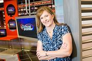 Rebecca Schulte, senior vice president and general manager, Comcast SportsNet Mid-Atlantic.  Ravens 21 - Patriots 17