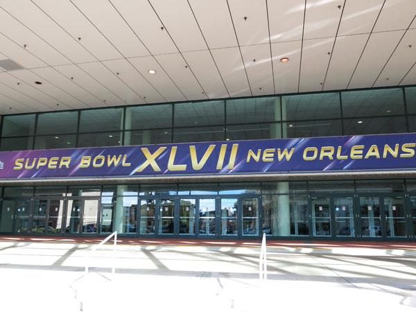 Sunday's Super Bowl in New Orleans pits the Baltimore Ravens and San Francisco 49ers.