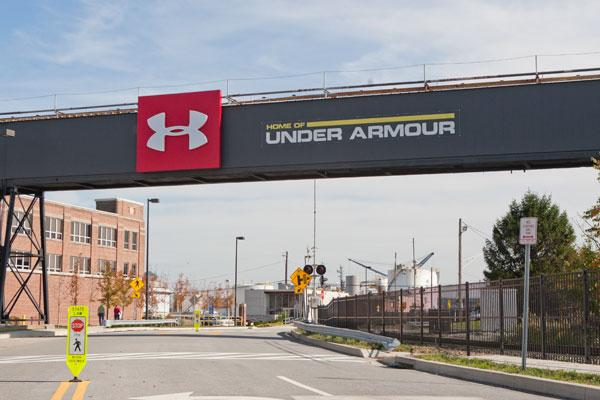 Under Armour plans to open a retail store at Tide Point.