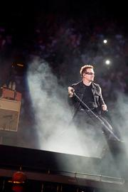 Bono performs with U2 at the M&T Bank Stadium concert in Baltimore on June 22.