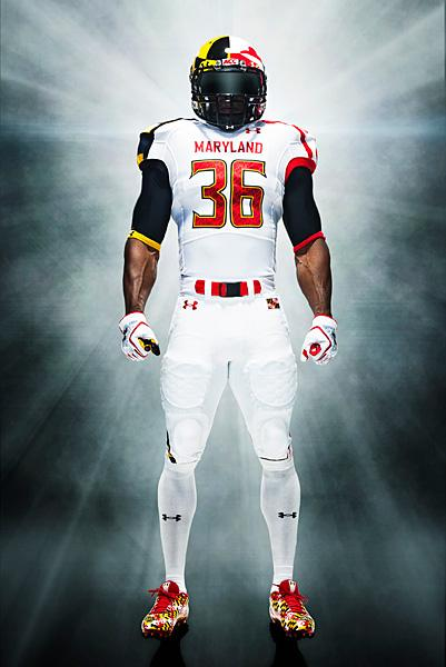 The University of Maryland debuted a version of its Maryland Pride jersey during its opening against Miami.