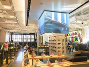 A wide-view of Under Armour's new 8,000-square-foot store in Harbor East.
