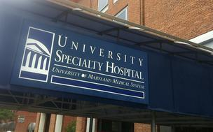 University Specialty Hospital on Charles and Lee streets downtown.