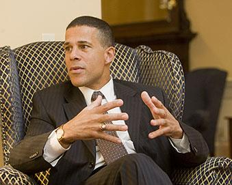 """Lt. Gov. Anthony Brown says Health Care Enterprise Zones will """"address the geographic and racial disparities that exist in our most under served communities."""""""