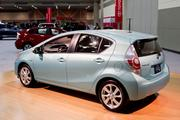 The ultra compact 2013 Toyota Prius C.