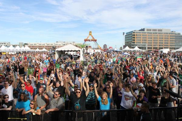 The 2012 Charm City Music Festival was held at Harbor Point.