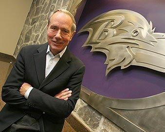 Baltimore Ravens President Dick Cass.