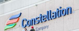New Constellation sign, logo, Exelon, Baltimore