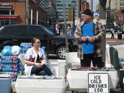 The warm weather and buzz surrounding the O's 3-0 start brought out several street vendors for opening day 2011.