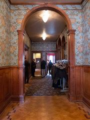 The current entrance to the Inn at Government House off Calvert Street. When the Ivy hotel is complete, the entrance will be relocated to Biddle Street.