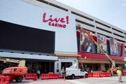 Workers continue to put the final touches on Maryland Live Casino near Arundel Mills ahead of June 6 opening.