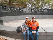 Sherrie and Ed Jones remembered attending Orioles games at Memorial Stadium.