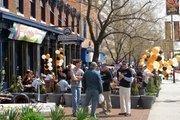 Pratt Street Ale House packs them in on opening day.