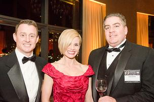 (left to right) Tom Sadowski, CEO Economic Alliance of Greater Baltimore; Jason Pappas; Cindy Pappas