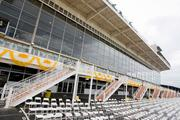 Seats below the Pimlico grandstand are among the premium tickets on Preakness Day.
