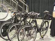 New bicycles are part of a gift to the city's police department made by Under Armour and the Baltimore Police Foundation.