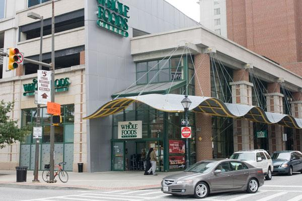 Whole Foods opened in Harbor East in 2002, spurring more retail activity in the area.